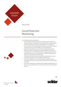 Social Protection Monitoring