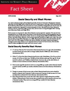 Social Security and Black Women