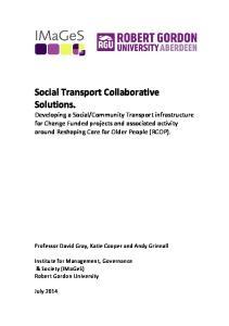 Social Transport Collaborative Solutions