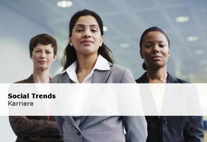 Social Trends Karriere