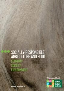 Socially-responsible agriculture and food