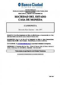 SOCIEDAD DEL ESTADO CASA DE MONEDA