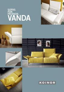 sofas for VANDA friends