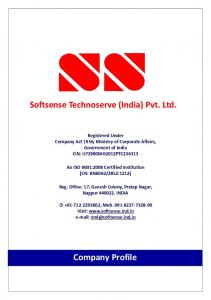 Softsense Technoserve (India) Pvt. Ltd