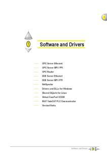 Software and Drivers. Software and Drivers 1