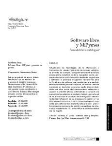 Software libre y MiPymes