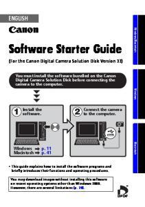 Software Starter Guide