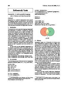 Software & Tools A B. 288 TUGboat, Volume 29 (2008), No. 2