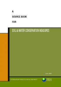 SOIL & WATER CONSERVATION MEASURES