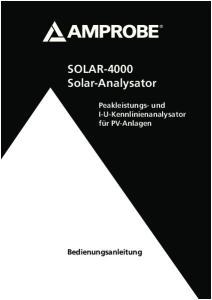 SOLAR-4000 Solar-Analysator
