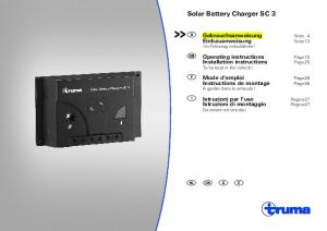Solar Battery Charger SC 3