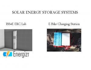 SOLAR ENERGY STORAGE SYSTEMS