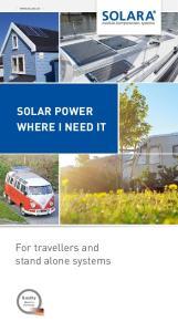 SOLAR POWER WHERE I NEED IT