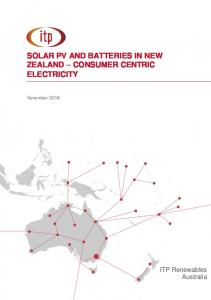 SOLAR PV AND BATTERIES IN NEW ZEALAND CONSUMER CENTRIC ELECTRICITY