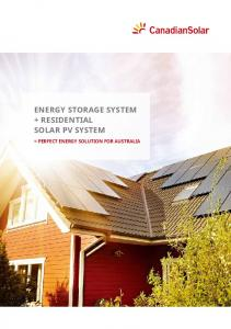 Solar PV System. = Perfect Energy Solution for Australia