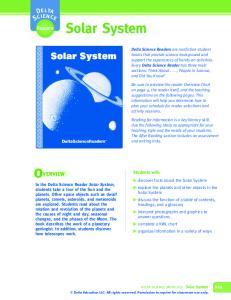 Solar System. Solar System