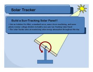 Solar Tracker Build a Sun-Tracking Solar Panel!!