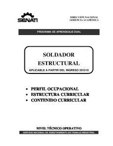 SOLDADOR ESTRUCTURAL
