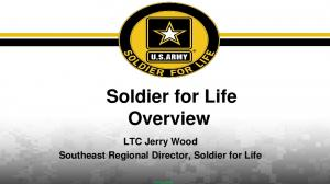 Soldier for Life Overview