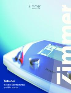 Soleoline. Clinical Electrotherapy and Ultrasound