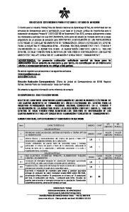 SOLICITUD DE COTIZACIONES PARA EFECTUAR EL ESTUDIO DE MERCADO