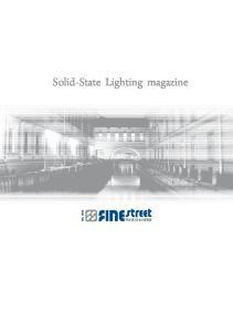 Solid-State Lighting magazine