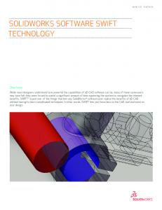 SOLIDWORKS SOFTWARE SWIFT TECHNOLOGY