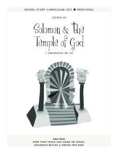 Solomon & the Temple of God