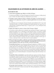 SOLUCIONARIO DE LAS ACTIVIDADES DEL LIBRO DEL ALUMNO