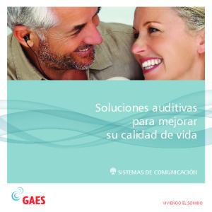 Soluciones auditivas para mejorar su calidad de vida