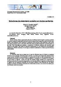 Soluciones de aislamiento acústico en ductos sanitarios