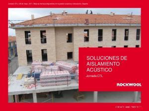 SOLUCIONES DE AISLAMIENTO ACÚSTICO