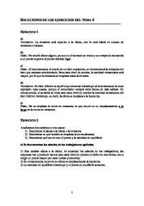 SOLUCIONES DE LOS EJERCICIOS DEL TEMA 4