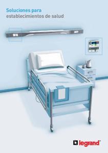 Soluciones para establecimientos de salud