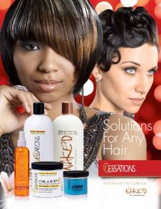Solutions For Any Hair. Multi-Textural Hair Collection
