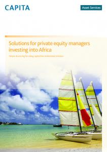 Solutions for private equity managers investing into Africa. Simple structuring for raising capital from institutional investors