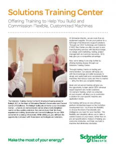 Solutions Training Center