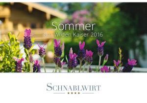 Sommer. am Wilden Kaiser 2016