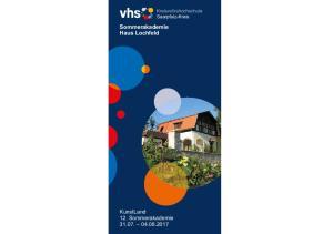 Sommerakademie Haus Lochfeld. Kreisvolkshochschule Saarpfalz-Kreis