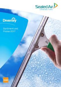 Sortiment und Preise 2017
