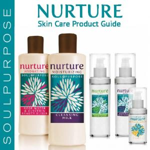 SOULPURPOSE NURTURE. Skin Care Product Guide