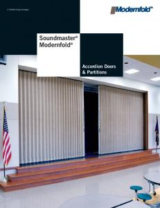 Soundmaster Modernfold Accordion Doors & Partitions