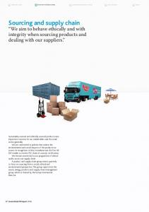 Sourcing and supply chain