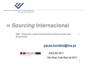 Sourcing Internacional