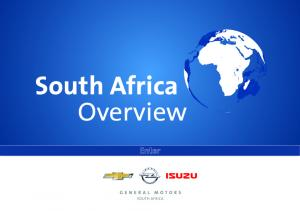 South Africa Overview. Enter