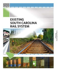 South Carolina. Rail System. Existing South Carolina