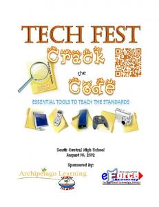 South Central High School August 10, 2012 Sponsored by: