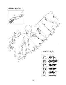 South Shore Region MAP
