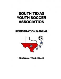 SOUTH TEXAS YOUTH SOCCER ASSOCIATION