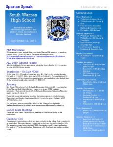 South Warren High School